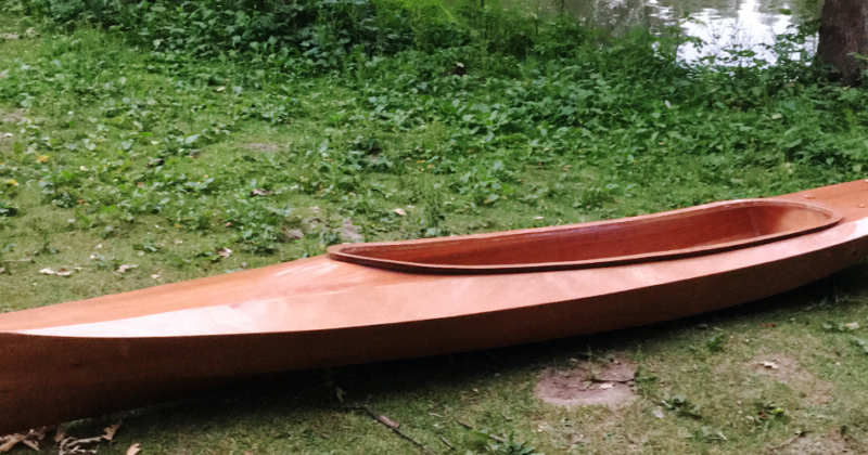 Wood Duck Double - fertig für die erste Ausfahrt
