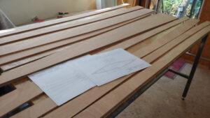 Planken und Bauplan